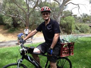 Ian Tooley at the Gawler Garden and Produce Share